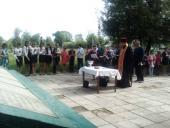 Молитва біля обелісків Пулинського округу