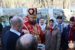 У третій День свята Пасхи Христової Правлячий митрополит очолив літургію у Тригірському монастирі