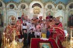 Пасхальное соборное служение духовенства Пулинского благочиния!