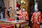 У неділю про Самарянку митрополит Никодим звершив Божественну літургію у Спасо-Преображенському кафедральному соборі міста Житомира.