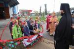 Архієпископ Никодим звершив святу Літургію в Успенському храмі смт. Романів.
