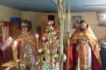 Заупокійна літургія за покійним настоятелем Хрестовоздвиженського храму села Галіївка.