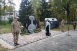 Освячення пам'ятного знаку-меморіалу Ліквидаторам аварії на Чорнобильськиій АЕС.