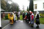 Бердичівські паломники розділили радість престольного празника з насельниками Свято-Іоанно-Богословського Лемешівського монастиря та віруючими з різних єпархій