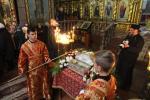 Житомиряни моляться біля мощей великомученика Димитрія Солунського!