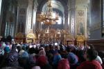 Бердичівські паломники на святковій Літургії на честь чудотворної ікони Матері Божої «Утамуй мої печалі» у Городницькому Свято-Георгіївському монастирі