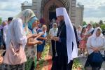 Митрополит Никодим із архіпастирським візитом відвідав Спасо-Преображенський храм міста Новоград-Волинський.