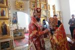 Архіпастир очолив Божественну літургію у Свято-Георгіївському храмі смт.Черняхів!