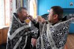До таїнства Єлеосвячування приступили священики Андрушівського благочиння!